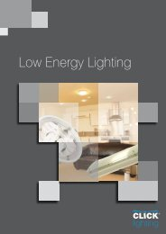 Low Energy Lighting - SCOLMORE INTERNATIONAL LTD