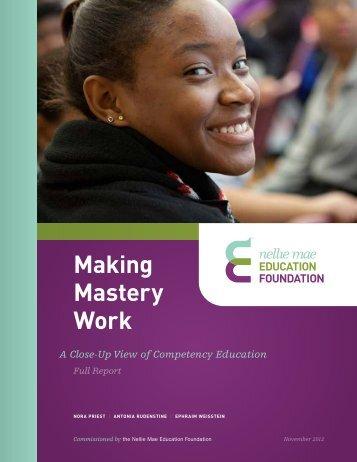 Making-Mastery-Work-NMEF-2012-Inline