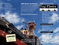 Tug Fleets - JMS Naval Architects & Salvage Engineers