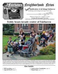 Fairhaven Neighborhood News - North Fairhaven