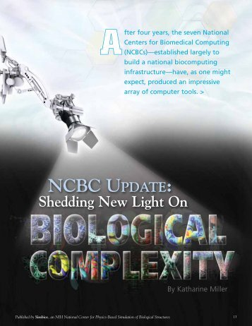 NCBC UPDATE: - Biomedical Computation Review