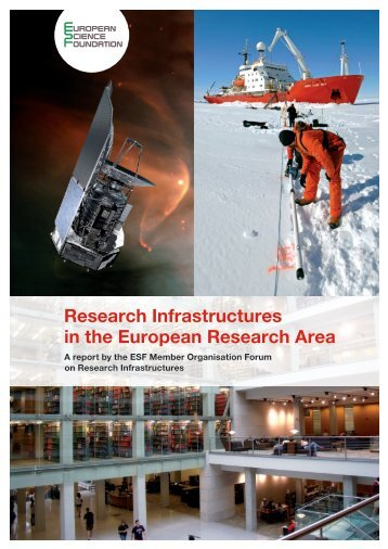 Research Infrastructures in the European Research Area