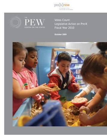 Votes Count: Legislative Action on Pre-K Fiscal ... - Education Justice