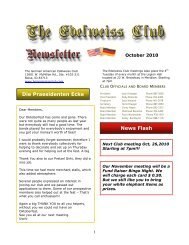 News Flash - German-American Club of Boise, Idaho