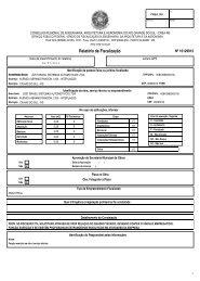 Relatório de Fiscalização - Jost Brasil Sistemas ... - CONFEA