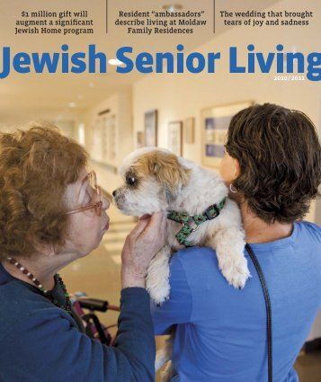 1 million gift will augment a significant Jewish Home program