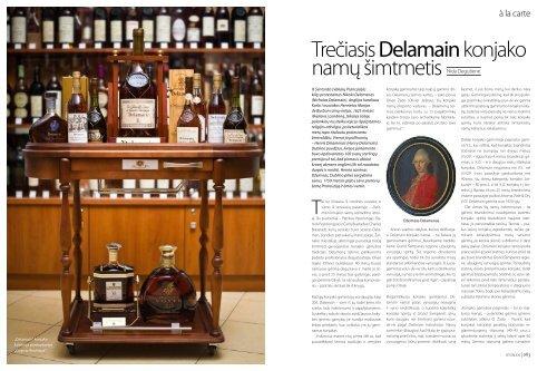 trečiasis Delamain konjako namų šimtmetis - Delamain Cognac