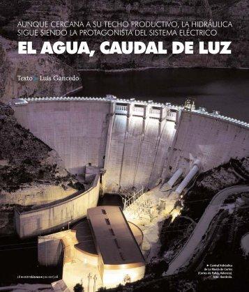 EL AGUA, CAUDAL DE LUZ - Red Eléctrica de España