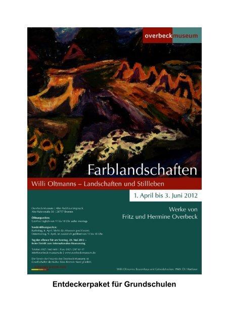 Entdeckerpaket für Grundschulen - Overbeck-Museum