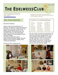 happy birthday to all! - German-American Club of Boise, Idaho