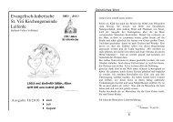 Ausgabe 2-2010 - St. Viti Kirchengemeinde Leiferde
