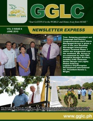 (Volume 3) GGLC Express Issue - Global Gateway Logistics City