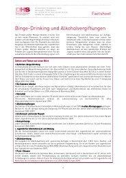 Binge-Drinking und Alkoholvergiftungen - Webspaceconfig.de