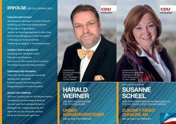 SuSanne Scheel harald werner - CDU OV Stockelsdorf