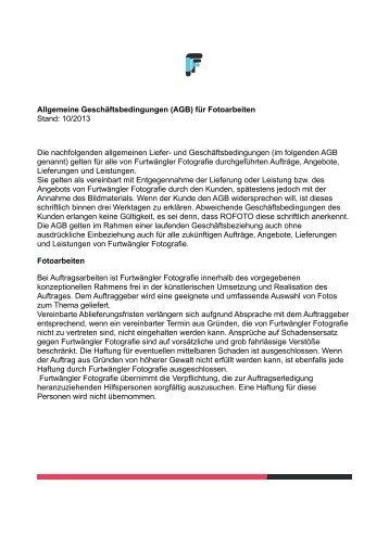 AGB - Furtwängler Fotografie