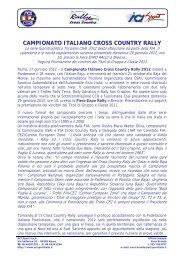 17/01 - ACI Sport Italia