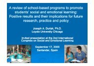 social and emotional learn