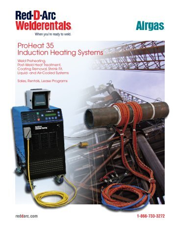 ProHeat 35 Induction Heating Systems - Red-D-Arc