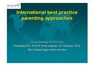 International best practice parenting approaches ... - Pelorous