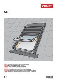 Installation Instructions For Awning Blind For Roof Window