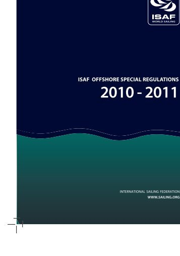 Isaf offshore special regulations 2010 - 2011 - Beth and Evans