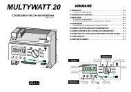MULTYWATT 20 L'indicateur de consommations. - E-electrique