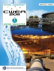 April 12-15 ? Ontario - CWEA