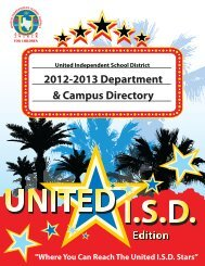2012-2013 Department & Campus Directory Edition - United ...