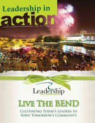 Live The BEND - Chamber of Commerce of St. Joseph County