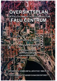Fördjupad översiktsplan för Falu centrum - Falu Kommun
