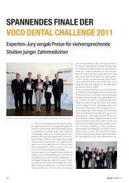 Spannendes Finale der VOCO Dental Challenge ... - zahniportal.de