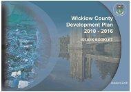 Wicklow County Development Plan 2010 - 2016 - Wicklow.ie