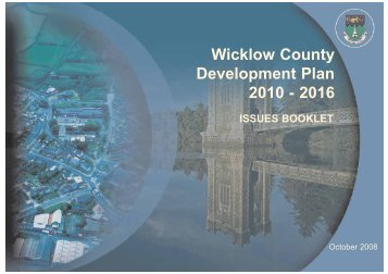 Wicklow County Development Plan 2010 - 2016 - Wicklow.ie