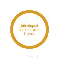 Mindspot Make it your Library - Aarhus Kommunes Biblioteker