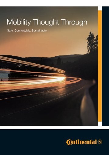 Mobility Thought Through - conticontact.co.uk