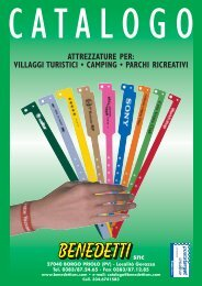 Catalogo completo villaggi turistici e camping - Benedetti S.n.c.