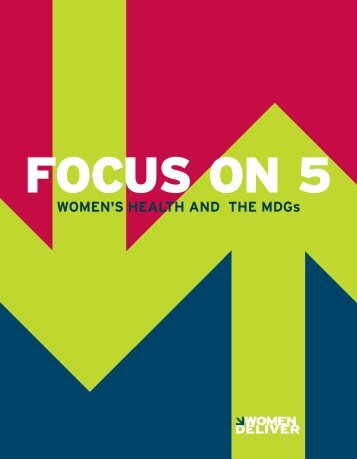Women's HealtH and tHe mdGs - UNFPA