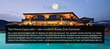Das Resort Casa León – das Juwel im Süden Cran Canarias