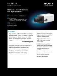 SSC-G218 - Elvia CCTV