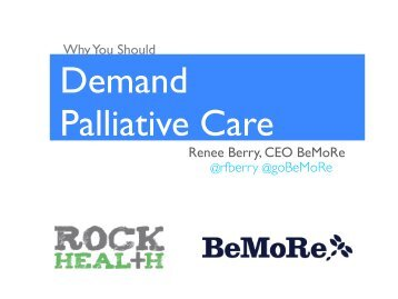 Why You Should Demand Palliative Care - HealthCare Chaplaincy