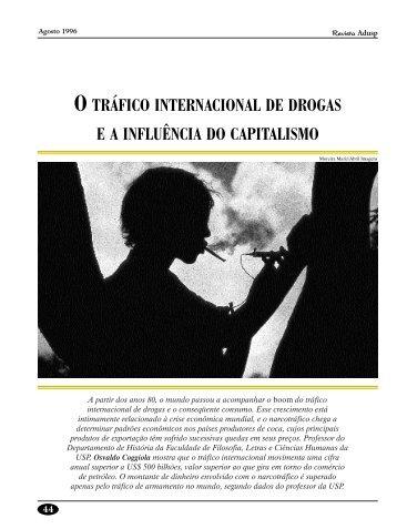 o tráfico internacional de drogas ea influência do capitalismo - Adusp
