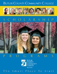 returning student scholarships - Butler County Community College