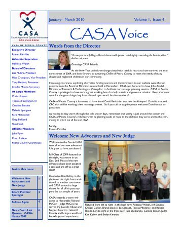 New Board Members - CASA of Peoria County