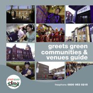 2009 - The Greets Green Partnership Legacy Website