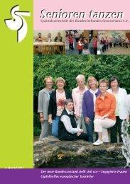 Senioren tanzen - Bundesverband Seniorentanz eV