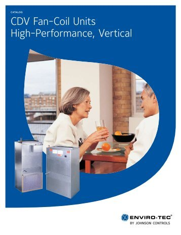 CDV Fan-Coil Units High-Performance, Vertical - Enviro-Tec