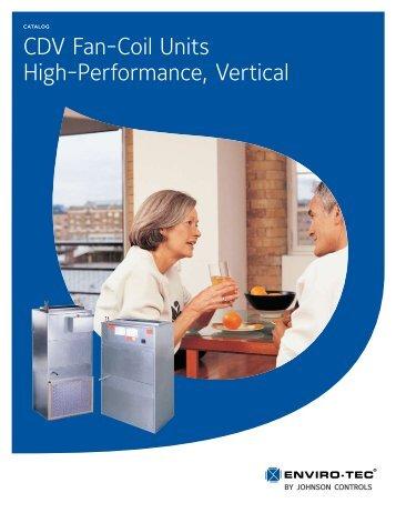 CDV Fan-Coil Units High-Performance, Vertical - Enviro-Tec