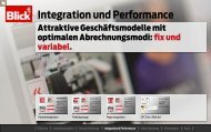 Integration und Performance - Blick
