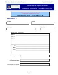 Short course application form 20092010 - Institute of Leadership