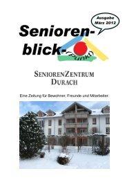 (03. Ausgabe März 2012) - Seniorenzentrum Durach